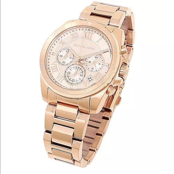 e6de2579622d Michael Kors MK6367 rose gold tone women watch new